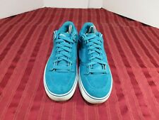 VANS Omar Hassan RipSaw 'Off the Wall' Skate Lo Top Suede Leather Shoes Men Sz 9