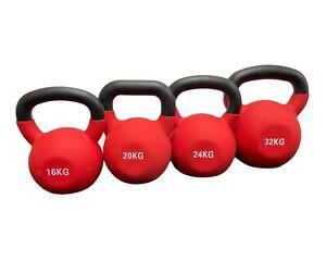 Neoprene Kettlebells 8-32KG Weights Home Gym Fitness