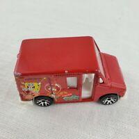 1999 Matchbox Delivery Service Truck 1:68 Die Cast Spongebob Square Pants Mattel