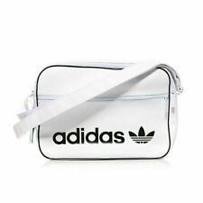 adidas Originals Airliner Vintage Cross Bag White Trefoil School Bag NWT DH1003