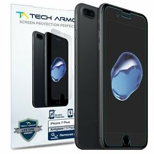 Tech Armor Anti-Glare Matte Screen Protector [3-Pack] for iPhone 7 Plus/8 Plus