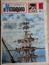 Il Vittorioso n°24 1963 - 30° piano disegni di Fantoni  [G393A]