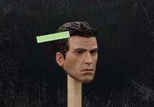 1/6 Batman Model Arkham Knight Bruce Wayne Head Carved Game Ver Man Figure