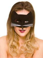 Chat Noir Domino Masque Halloween Superhéros Masque Catwoman Féline Fancy Dress