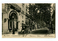 CPA Auvergne 03 Allier Vichy L'International Hôtel animé voiture
