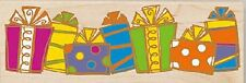 BIRTHDAY PRESENTS Rubber Stamp 30024 Stamps Happen gift