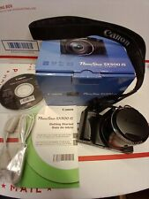 Canon PowerShot SX500 IS 16.0MP Digital Camera~30x Zoom~With box , No charger