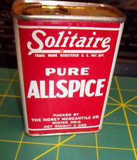 Solitaire Tin - Allspice spice tin - Nice Metal tin  - The Morey Mercantile Co