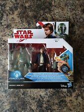 Hasbro Star Wars, Han Solo & Boba Fett Force Link One BNIB