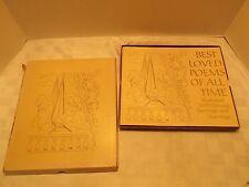 Vintage Best Loved Poems Of All Time, Org Box, 1971 Hallmark