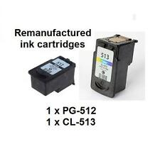 PG-512(PG512)+CL-513 (CL513) Ink Cartridges for Canon MP280 MP490 MX360 printers
