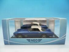 NEO MASERATI 3500 GT TOURING COUPE 1957 BLUE / WHITE  NEO45910 1/43