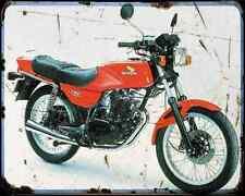 Honda Cb 250Rs A4 Metal Sign Motorbike Vintage Aged
