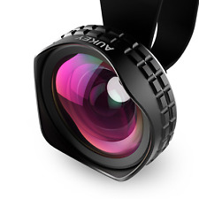 AUKEY Ora iPhone Lens, 110° Wide Angle Clip-on Cell Phone Camera Lenses for
