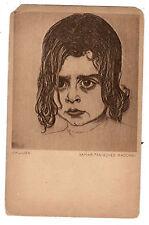 JUDAICA JEWISH ART POSTCARD ILLUSTRATED BY E.M. LILIEN   SAMARITANISCHES MADCHEN