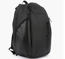 Wilson Vancouver Tennis Backpack Rucksack Blade Sports Black 2018 Nwt Wrz-841896