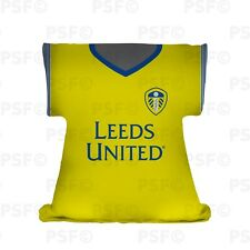 Leeds United FC Official Personalised Yellow Kit 2019 Shirt Cushion Lssc003
