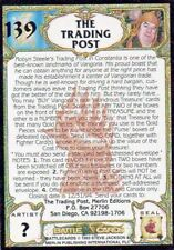 Battle  Cards Trading Post #139 1993