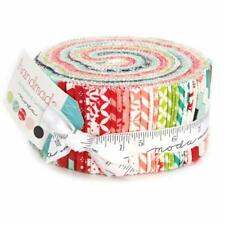 Jelly Roll - HANDMADE by Bonnie & Camille - 2,5 inch 40 Strips ** Stoffpaket