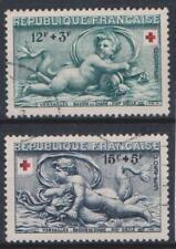 1952 FRANCIA UNIFICATO E YVERT N.937/938 VALORI USATO