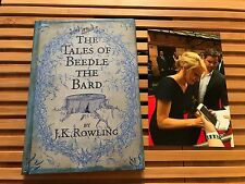 THE TALES OF BEEDLE THE BARD, J K Rowling, UK, **SIGNED**