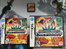 DIGIMON WORLD CHAMPIONSHIP / NDS / NINTENDO DS / NTSC USA / COMPLETO