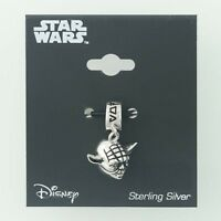 New Yoda Pendant Charm Star Wars Jewelry Disney Sci-Fi 3D Sterling Silver