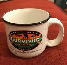 Survivor Africa CBS Porcelain Mug