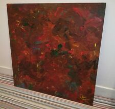 Original mixed media abstract art. oil blend Graham Sheen. Pollock Cezanne​
