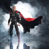 SU-C-MOR Fabric Wired Black /& Red Cape for Marvel Legends Morbius No Figure
