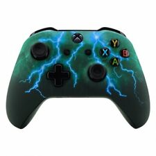 """Blue Lightning"" Xbox One S Rapid Fire Modded Controller for ALL GAMES COD MW"
