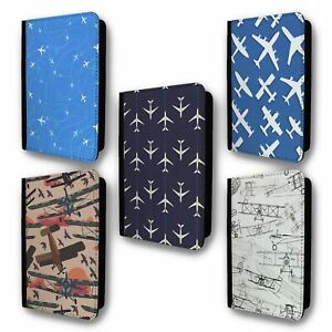 UK Passport Holder Case Cover Planes Collection 2