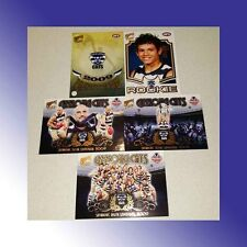 NO:333 2009 AFL SELECT GEELONG CATS PREMIERSHIP REDEMPTION 5 CARD SET ROOKIE