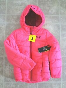 Under Armour Kids Prime Puffer Jacket Coat, Girl (S or M) Free Shipping