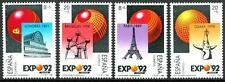 """SPAIN - SPAGNA - 1989 - """"Expo '92"""". Esposizione Universale di Siviglia (4) -"""