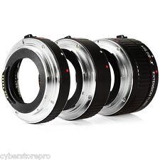 Viltrox Dg - Tapa 12MM 20MM 36MM Af Macro Tubo de Extensión Set para Canon Eos