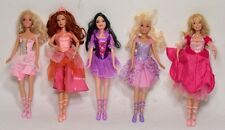 Barbie 5 bambole vintage Mattel collection top doll fashion tipo braz favole-0Z7