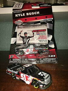 1:64 2019 ACTION LIONEL AUTHENTICS TRUCK #51 CESSNA KYLE BUSCH TOYOTA TUNDRA!