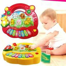 UK Musical Educational Animal Farm Piano Developmental Music Toys for Baby Kids