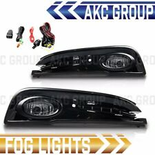 Clear Lens Fog Light Lamps Kit With Wiring For 2013-2015 Honda Civic 4-Door
