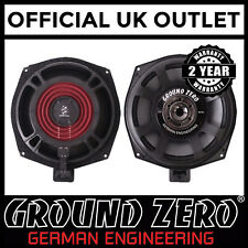 "Ground Zero 8"" Inch Extra Flat BMW Specific Underseat Car Sub Subwoofer PAIR"