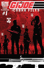 G.I. JOE: THE COBRA FILES (2013) #'s 1, 2, 3, 4 COMPLETE ANTONIO FUSO COVERS IDW