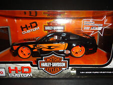 Maisto Ford Mustang GT 2006 Harley Davidson with Eagle Picture 1/24