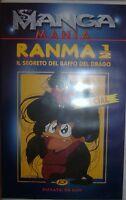 VHS - MANGA MANIA/ RANMA 1/2 - IL SEGRETO DEL BAFFO DEL DRAGO