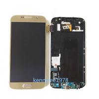 Pantalla Completa LCD Display Tactil+Para Samsung Galaxy s6 G920F Oro+Tool+Cover