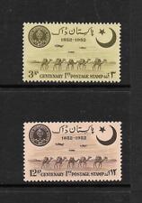 1952 King George VI SG63 to SG64 Scinde Dawk set Mint Hinged PAKISTAN