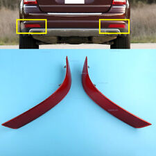 Pair RED Rear Bumper Reflector Left Right fit Mercedes-Benz GL-Class 2010-2012