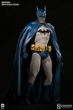 "Sideshow DC Comics BATMAN 12"" Action Figure 1/6 Scale The Dark Knight"