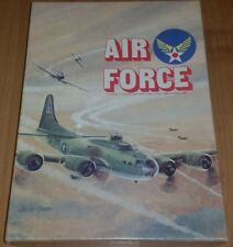 """Avlon Hill WWII War Book Case Game """"Air Force"""" 1976 """"Very Nice"""""""