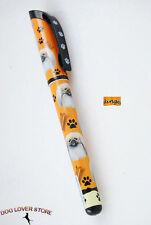 Pekingese Dog Pen Replaceable Ballpoint Black Ink